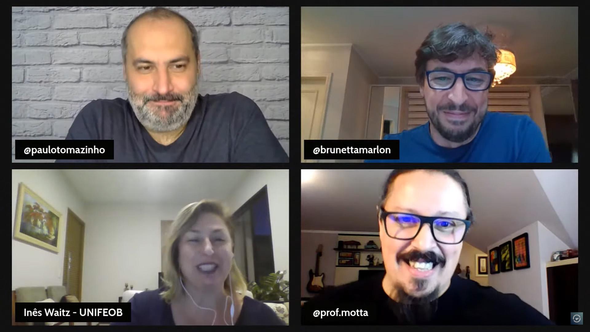 Moonshot elogia inovação da Unifeob em live com mais de 2 mil participantes