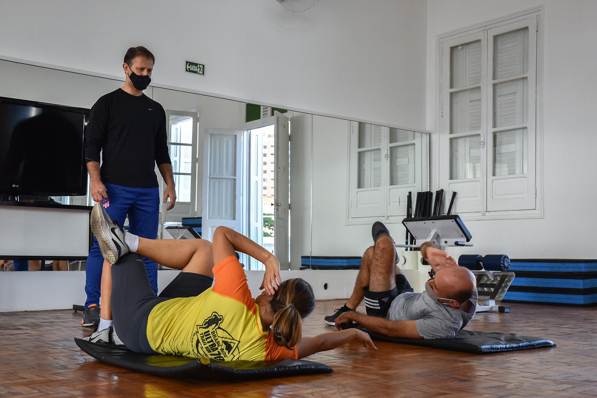 Academia do Palmeiras reabre com treinos por agendamento